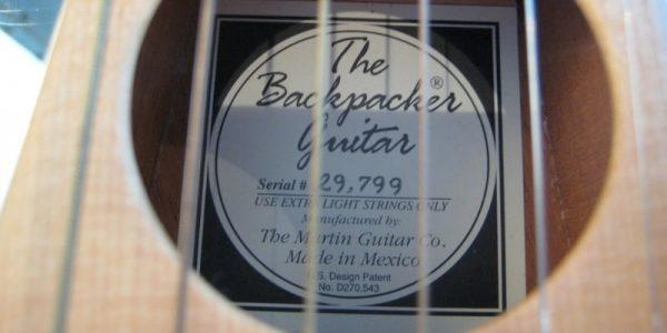 backpacker guitar