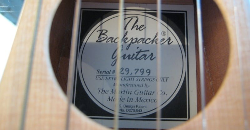backpacker guitar