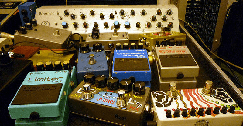 boutique guitar pedals