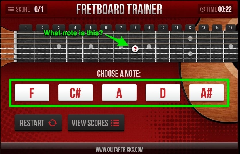 guitartricks fretboardtrainer