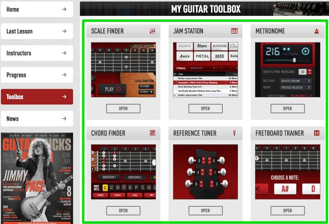 guitartricks toolbox