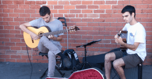 Image of man using a guitar chair (1)