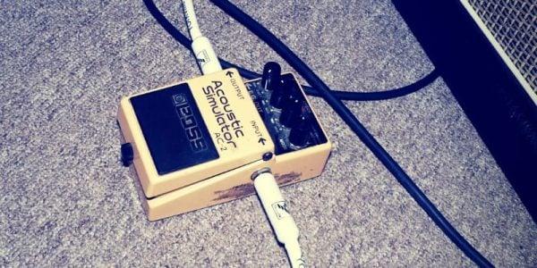 boss acoustic simulator pedal