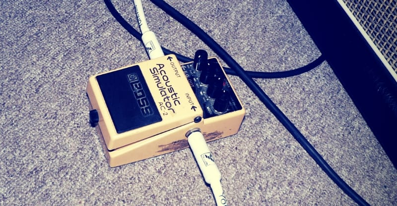 boss acoustic simulator pedal