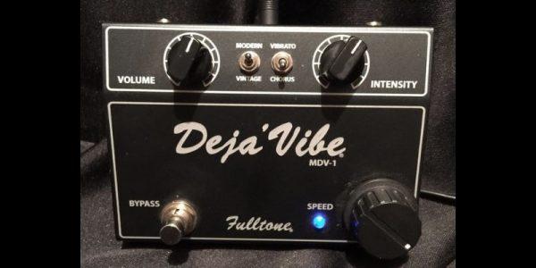 picture of a fulltone deja-vibe pedal