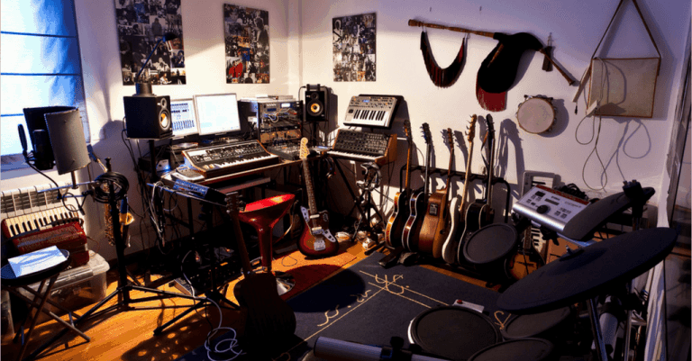 Amazing Home Recording Studio How To Set One Up On The Cheap Download Free Architecture Designs Aeocymadebymaigaardcom