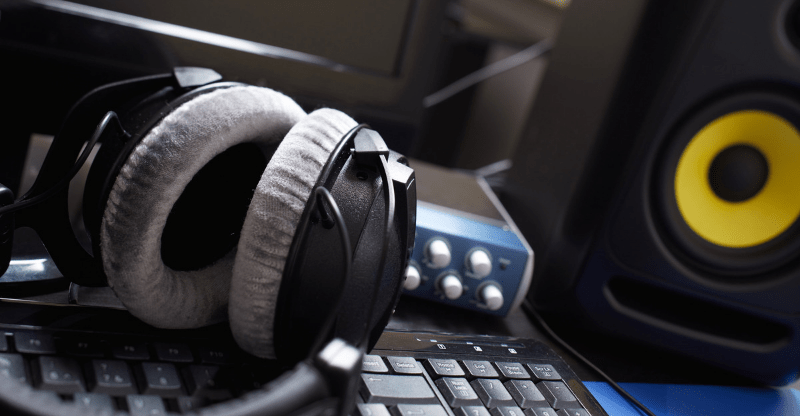 recording studio gear
