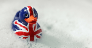 rubber britannia duck