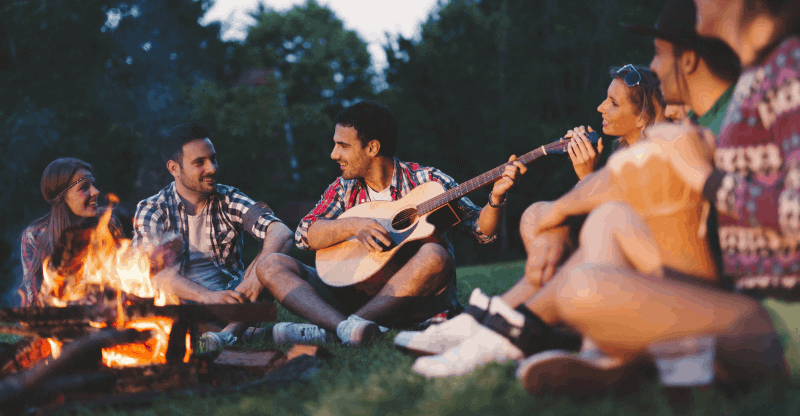 Best Campfire Songs for Guitar - Ideal for Playing Around