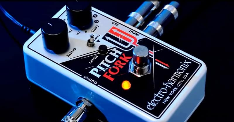 pitch fork octave pedal