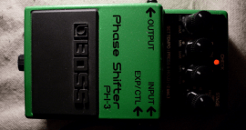 Boss phaser shifter pedal