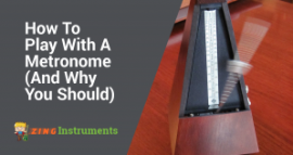 how to play with a metronome