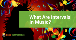 what are intervals in music?
