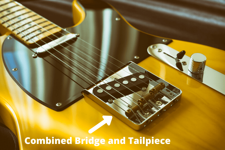Tele Combined Bridge and Tailpiece