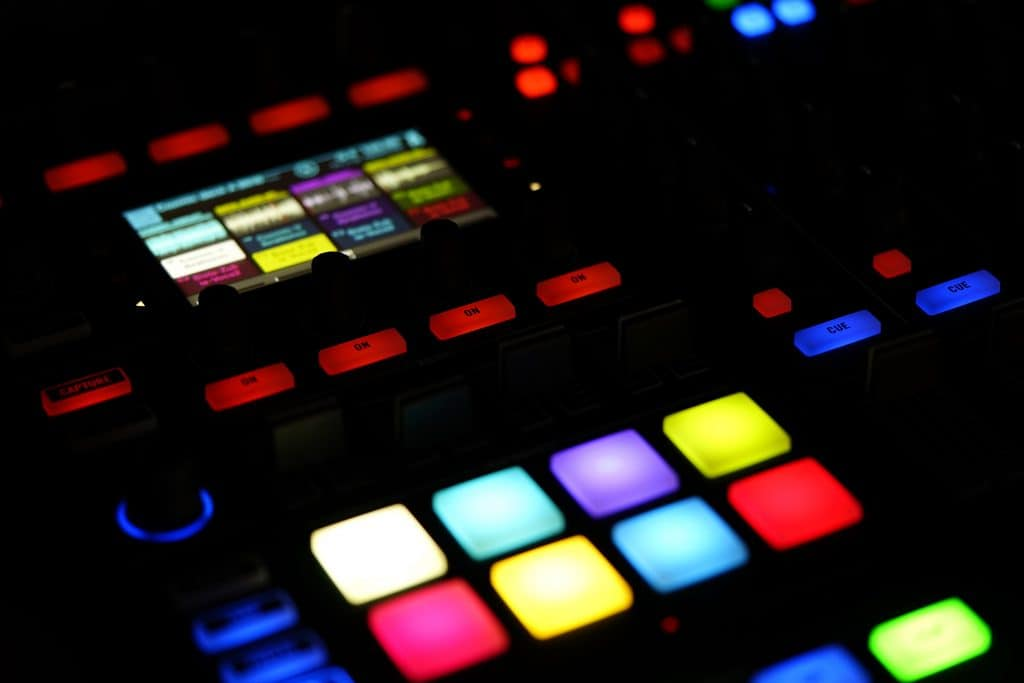 picture of dance music equipment