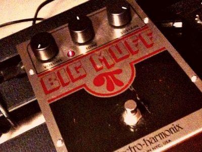 big muff fuzz pedal