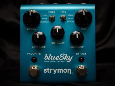 strymon reverb pedal