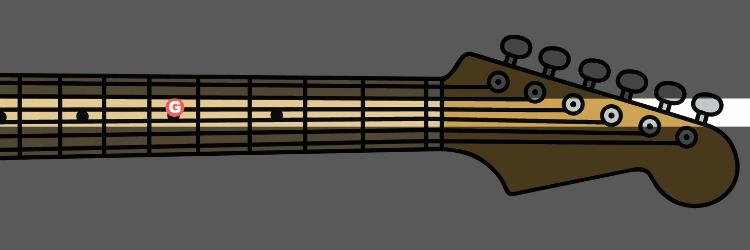 tuning g string