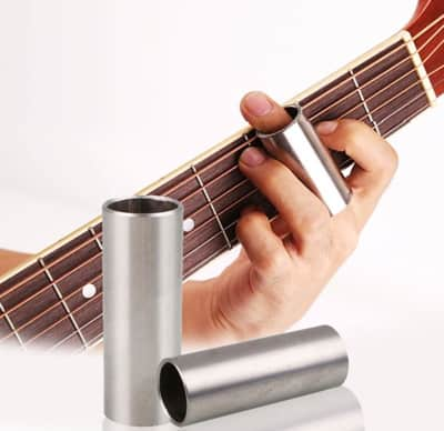 person playing metal slide