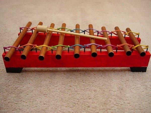 Copper Glockenspiel