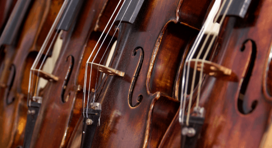 Selection of Violins