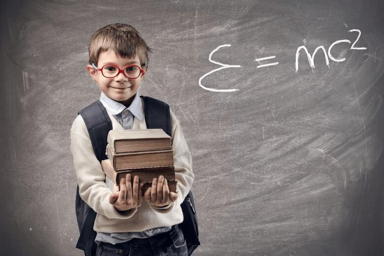 geeky kid