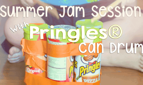 pringle can drum