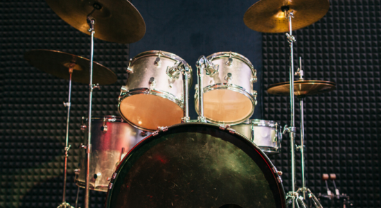 the parts of a drum set