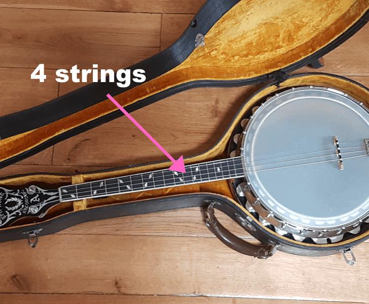 4 string banjo
