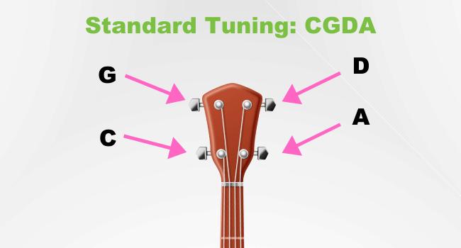 Standard Tuning CGDA