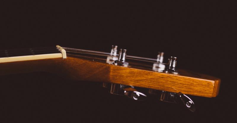 Tenor Banjo Tuning Headstock