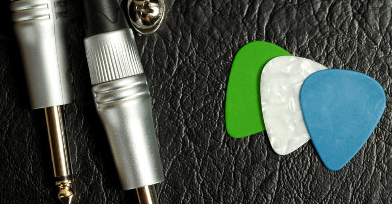 3 types of guitar pick