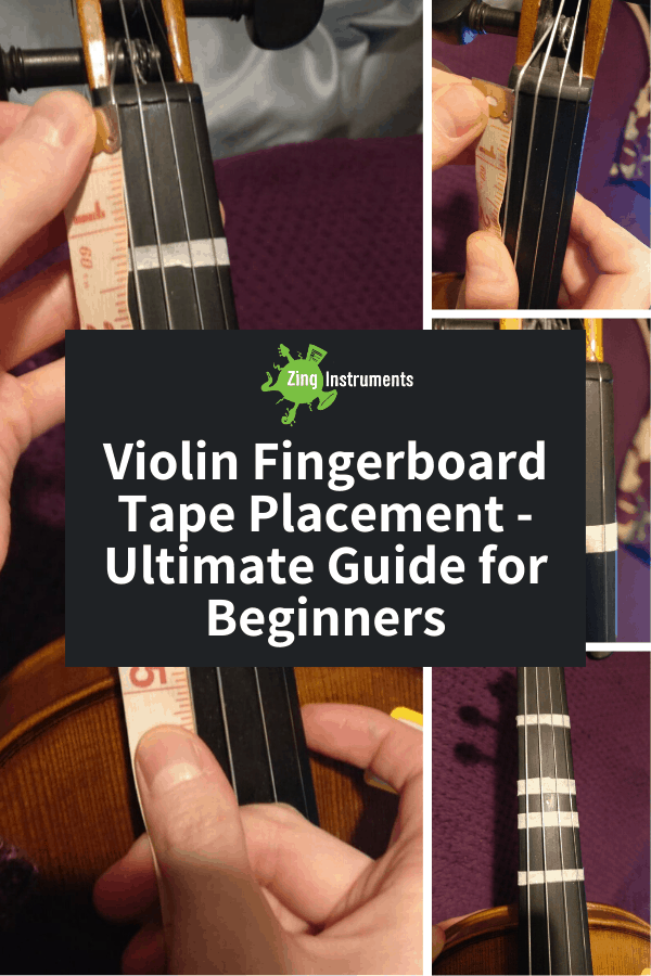 Violin Fingerboard Tape Placement - Ultimate Guide for Beginners