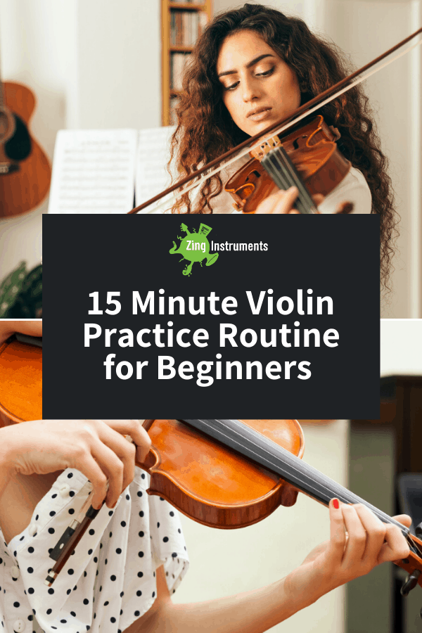 Violin Practice Routine Pin