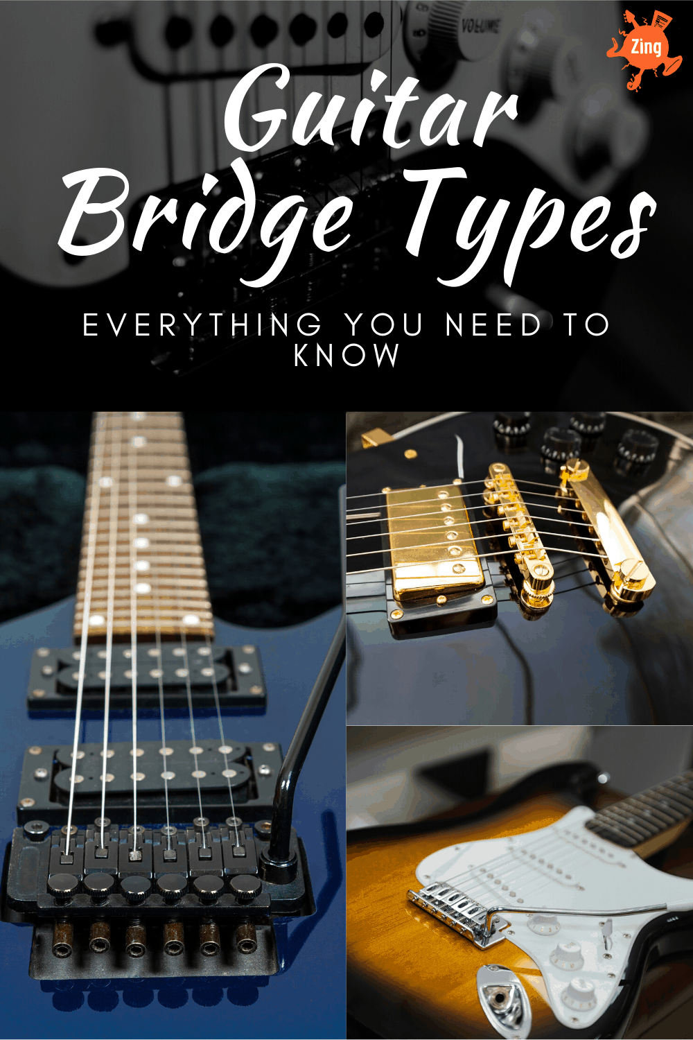 guitar bridge types - everything you need to know