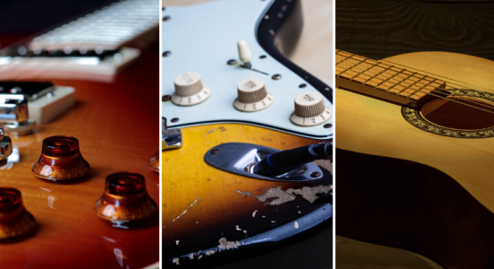 types of guitar finish