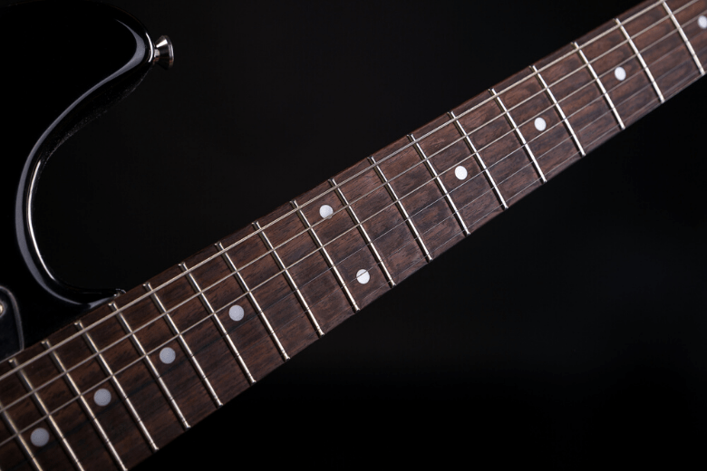 guitar fretboard dot inlays
