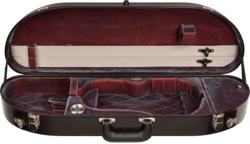 Bobelock half moon fiberglass violin case