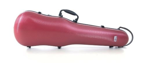 Gewa Pure shaped violin case red