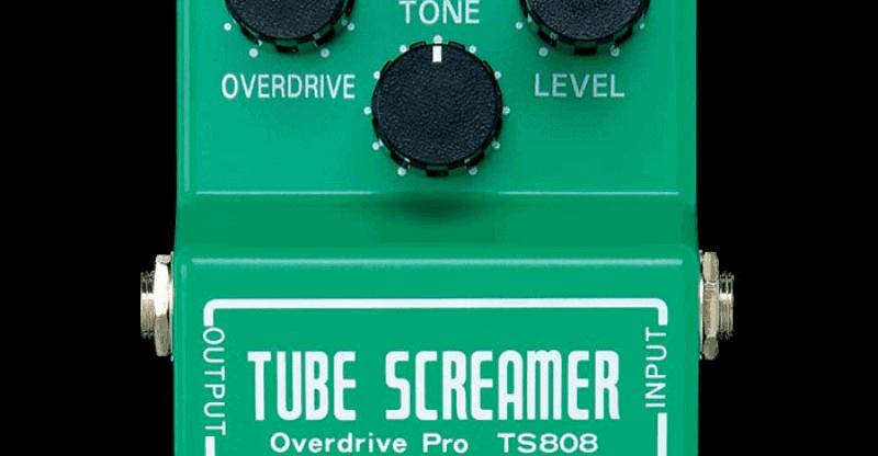 the ibanez TS808 tube screamer