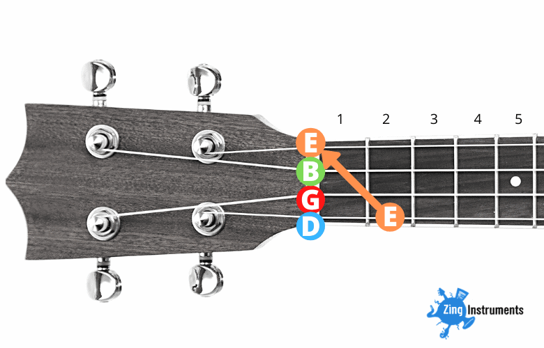 Baritone High D Tuning - step 1