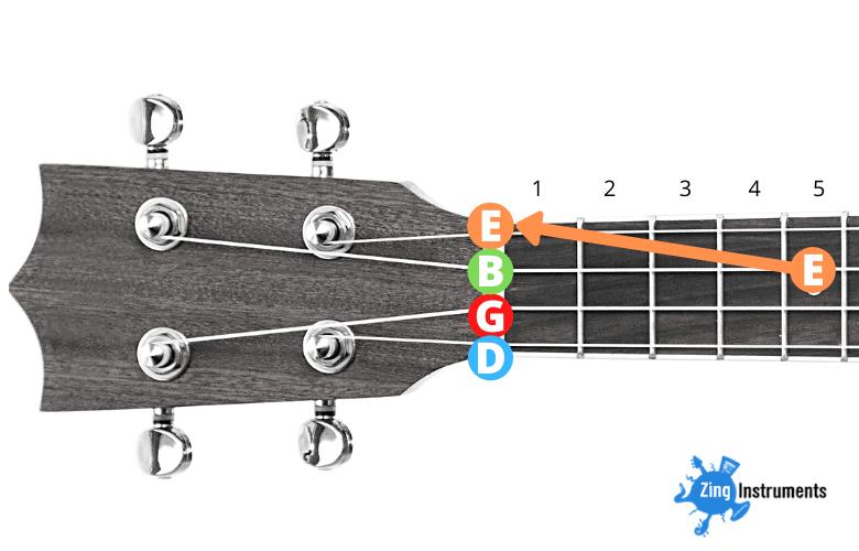 Baritone High D Tuning - step 2