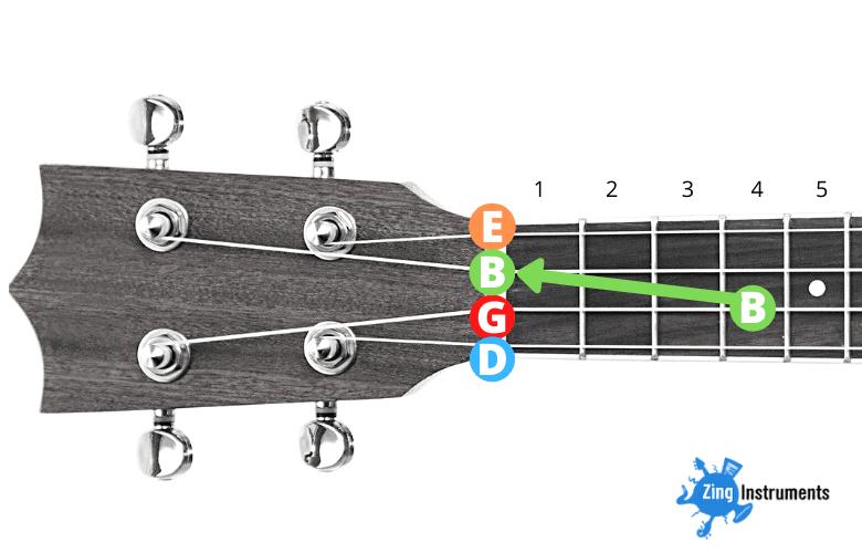 Baritone High D Tuning - step 3.