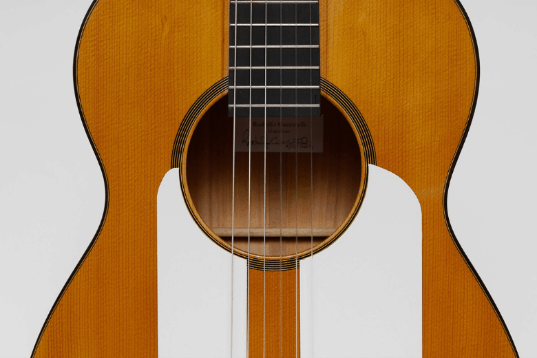 Golpeador flamenco guitar