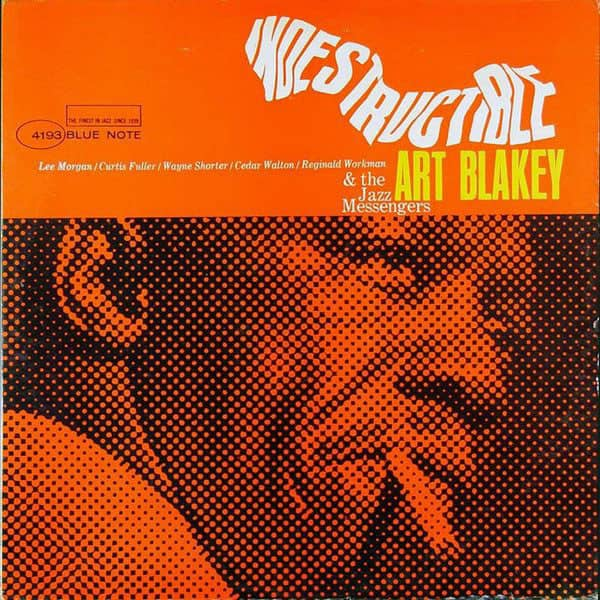 Indestructible art blakey album cover
