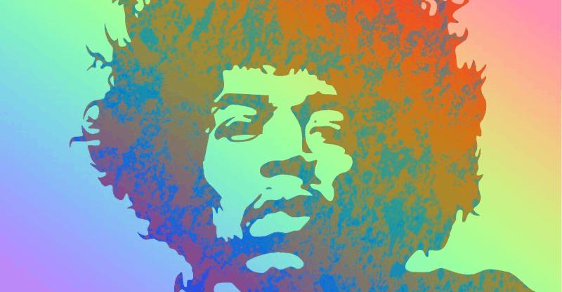 Jimi Hendrix Rainbow