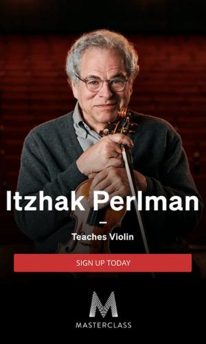 Masterclass Itzhak Perlman Promo