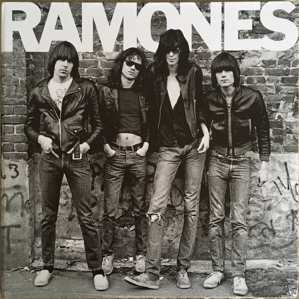 The Ramones album cover