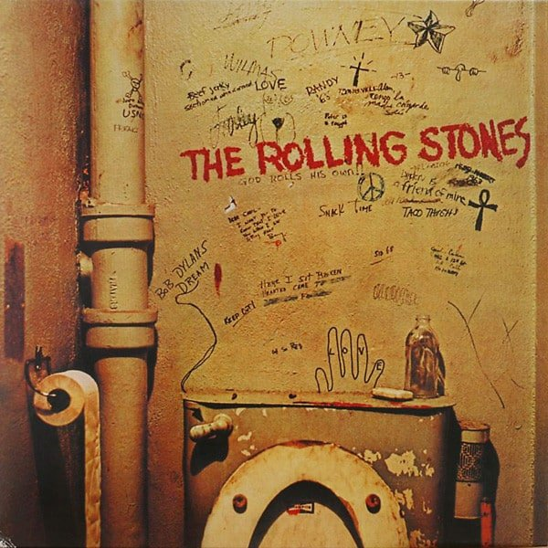 beggars banquet album cover
