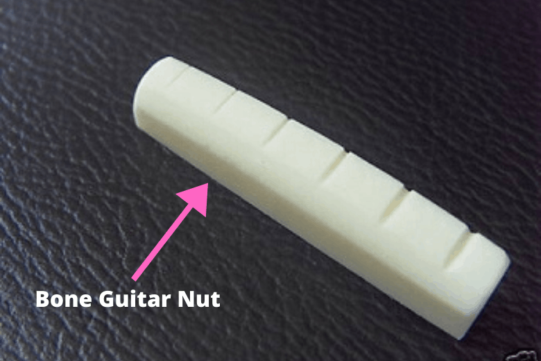 bone guitar nut